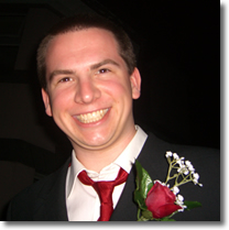 My brother Darren at my wedding in 2007.