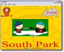 An interactive move about the television series, South Park.